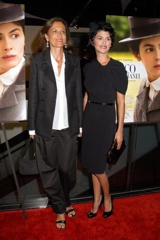 I'll Have What She's Having: Anne Fontaine and Audrey Tautou - FocusOnStyle | Sharon Haver #frenchchic #businesschic