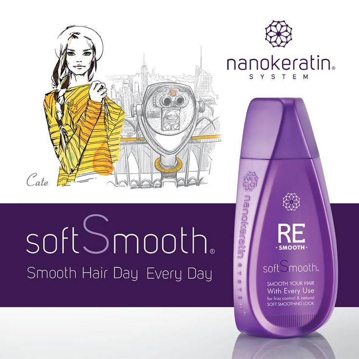 Puur home care haarproduct: SoftSmooth. Give your beauty ánd sex appeal a boost! Maak je haar zachter en gladder zonder gebruik te moeten maken van verhitting. Het wordt ook nog eens minder pluizig, gezonder, elastischer, glanzender én makkelijker 'manageable' wordt! ...En dat dagelijks vanuit huis, ideaal toch? Nanokeratin System Netherlands, Rozengracht 215 Amsterdam. T: 020-3303120. www.nanokeratinsystem.nl #softsmooth #nanokeratinsystem #hairtreatment #haircare #hairproducts