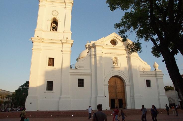 Church in Santa Marta in Colombia