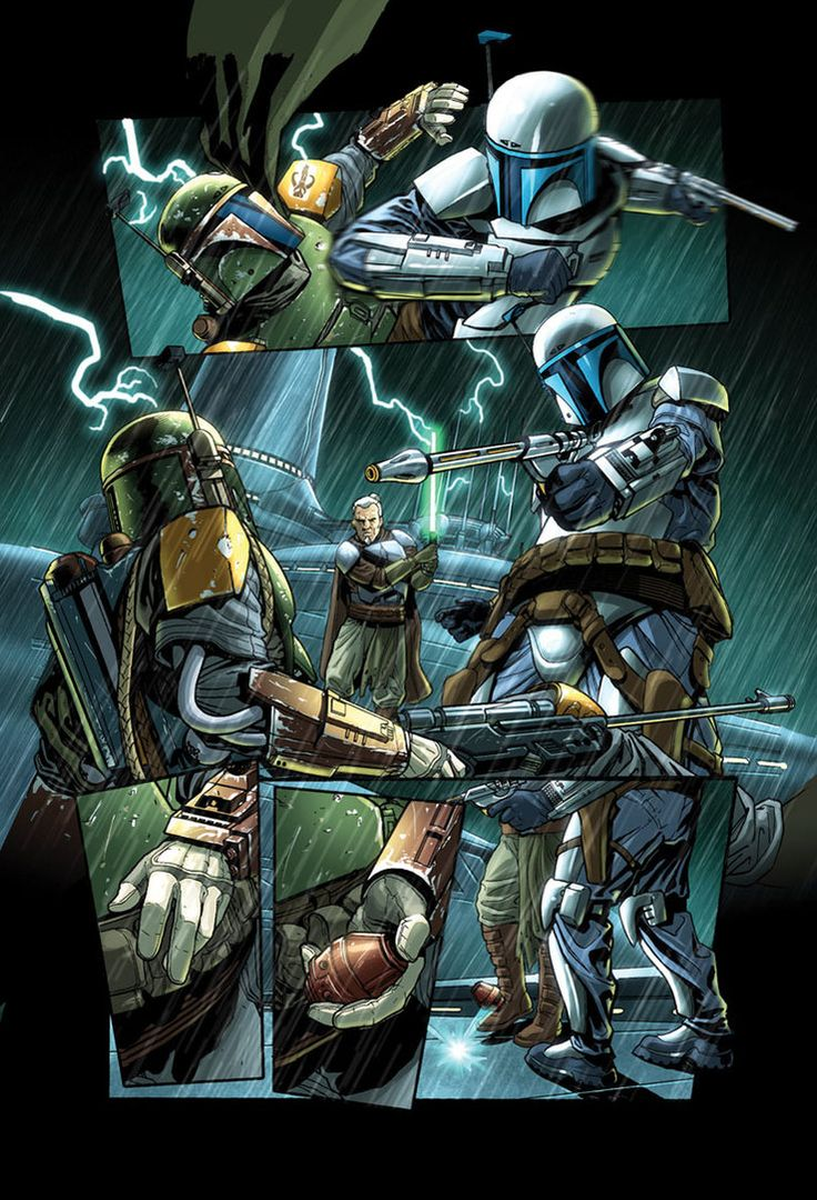 Jango Fett comic book - Star Wars TFU2