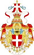Great coat of arms of the king of italy (1890-1946)
