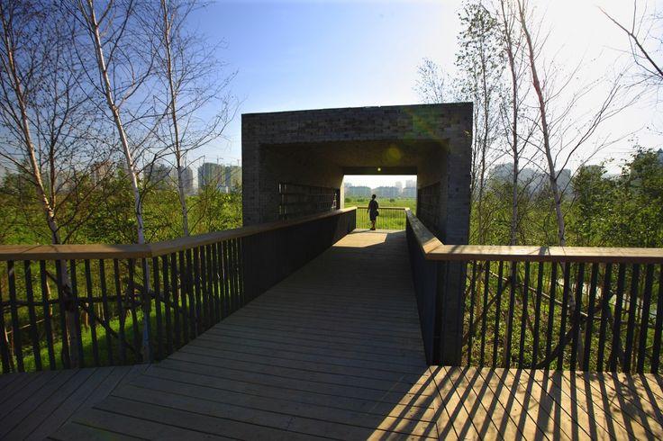 Qunli, Parque de Humedales y Aguas-Lluvias / Turenscape