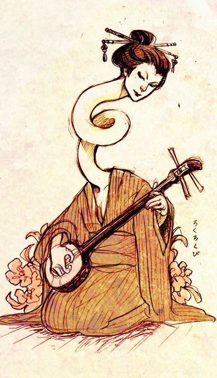 21 Best Images About Rokurokubi On Pinterest Folklore