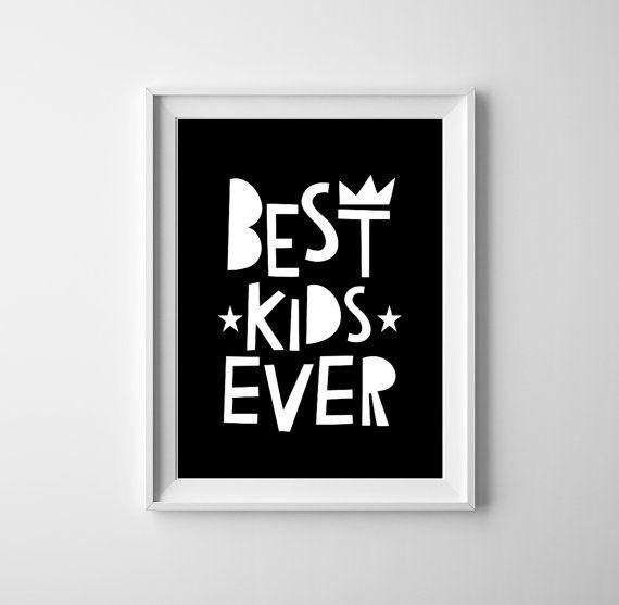 Kwekerij muur kunst beste kinderen afdrukken ooit voor jongen