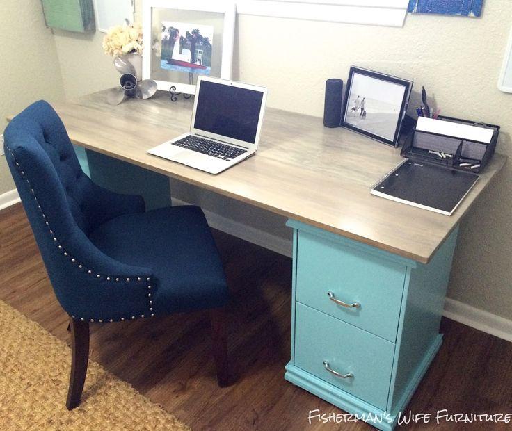 25+ Best Ideas About File Cabinet Desk On Pinterest