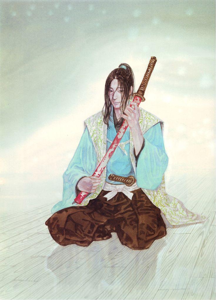 Takehiko Inoue Vagabond Art Of Water Kojiro Sasaki