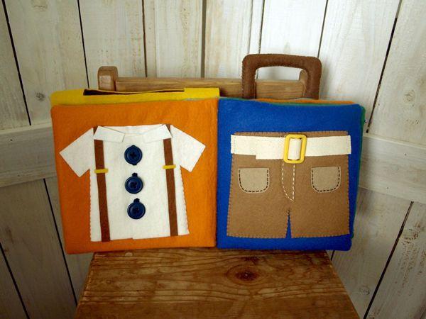 布絵本の作り方_ボタンとベルト