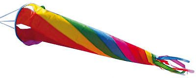 Hochwertige WINDSOCKE WINDSACK Windturbine 90 Rainbow