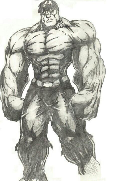 Hulk drawing | Comic stuff | Pinterest | Hulk, Hulk smash ...