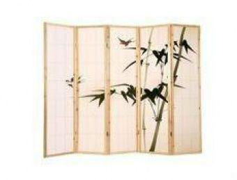 Parawan drewniany, japoński, ręcznie malowany 5 segmentowy Zadzwoń 602142777 lub napisz info@kupuj.info  Możliwe indywidualne wyceny i bonusy