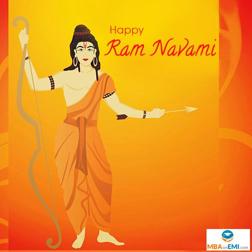 May Lord Ram shower his blessings on you always! Wishing You all a Happy Ram Navami..!! Via MBAonEMI  #HappyRamNavami #HappyRamaNavami #Wishes #Greetings #Ram #Lord #LordRama #RamNavami #Happy #Festival #Navratri #India