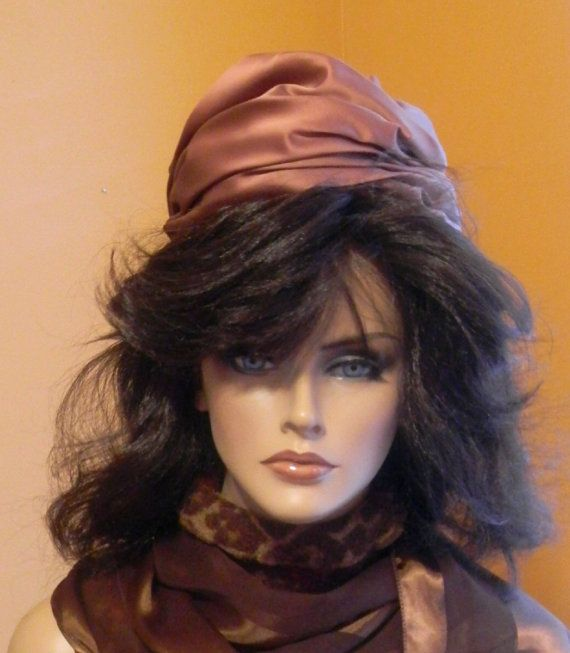 MidCentury Turban Hat by RetroCache on Etsy, $21.00