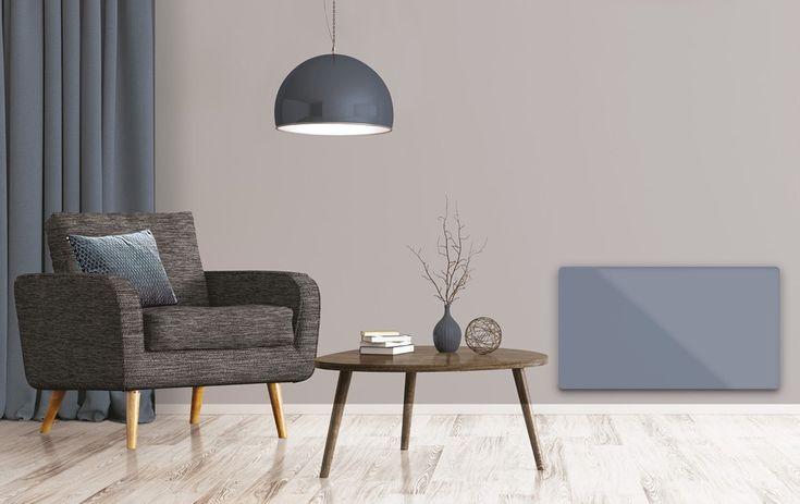 Energismarte og elegante panelovner i glass - Byggmakker+