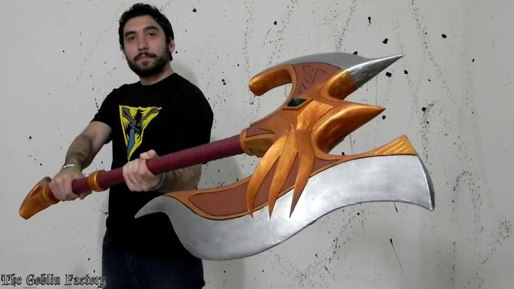 Lord Darius axe League of Legends cosplay prop