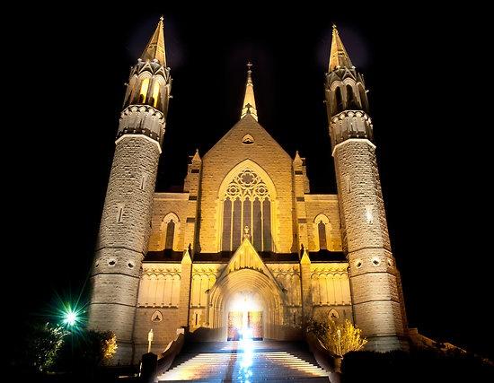 The Beautiful Bendigo Cathedral in Victoria, Australia