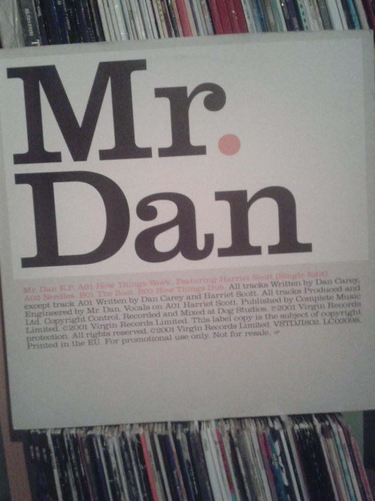#MrDan – Mr. Dan E.P.