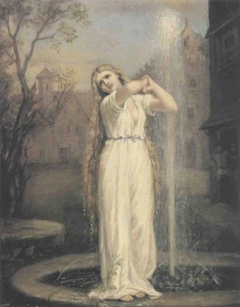 """""""Undine"""" by John Waterhouse, 1872"""