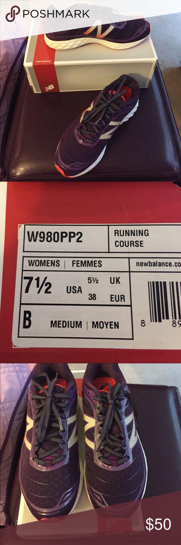 Brand new New Balance fresh foam running shoe! Women's 7 1/2 NEW BALANCE fresh foam running shoes. Never worn New Balance Shoes Sneakers