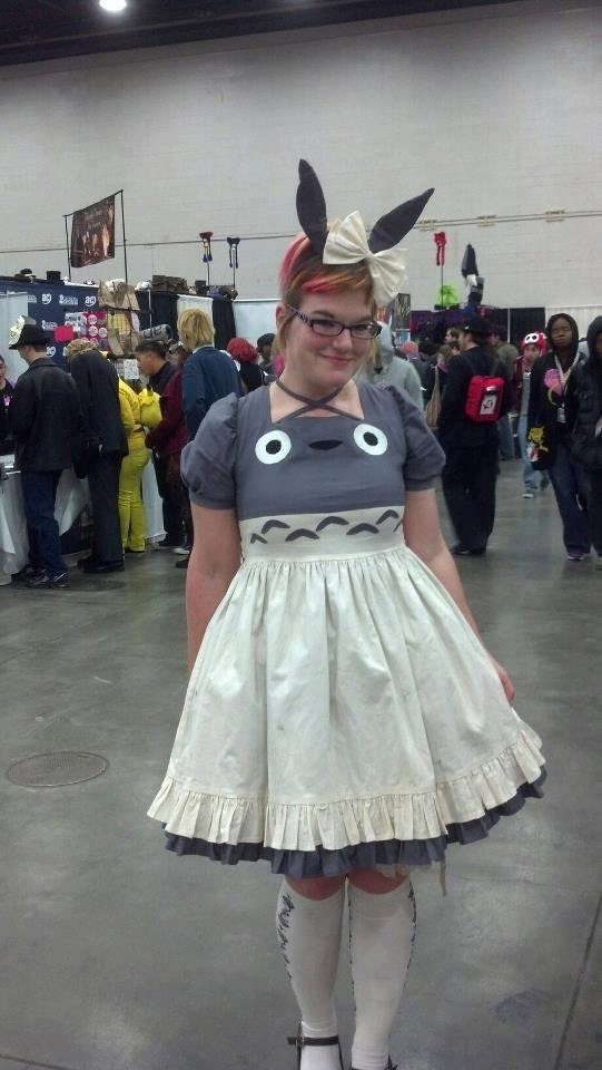 7e85a7ab5ed Totoro Lolita Dress.  300.00