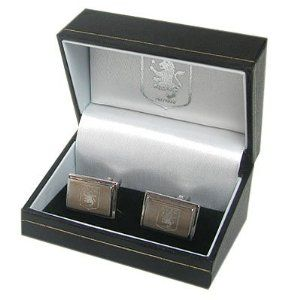 Aston Villa FC. Stainless Steel Cufflinks by Aston Villa F.C.. $39.95. Official Licensed Product. Aston Villa F.C.. approx 20mm x 10mm. Stainless Steel Cufflinks. ASTON VILLA F.C. Stainless Steel Cufflinks approx 20mm x 10mm Official Licensed Product