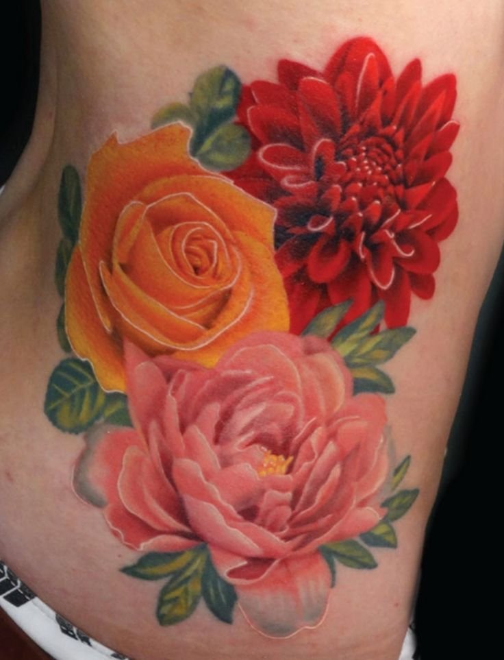 Different flowers of course, but I love the depth and realism here.