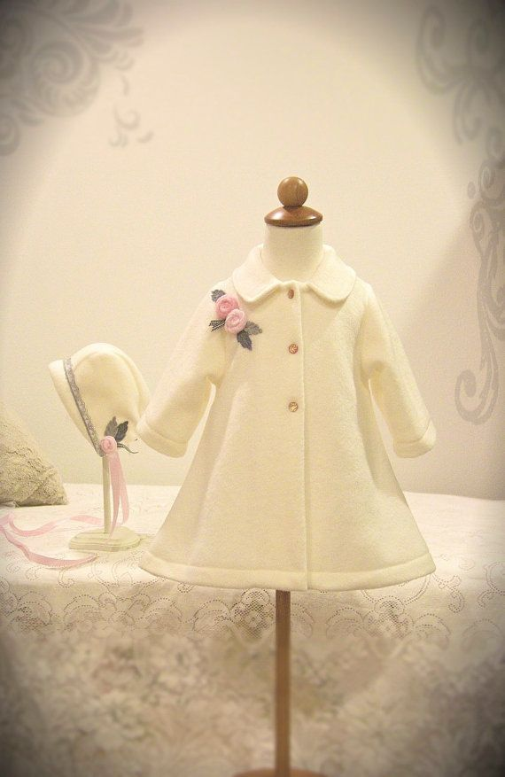Hey, I found this really awesome Etsy listing at https://www.etsy.com/listing/216168864/beautifully-classic-ivory-baby-coat-with