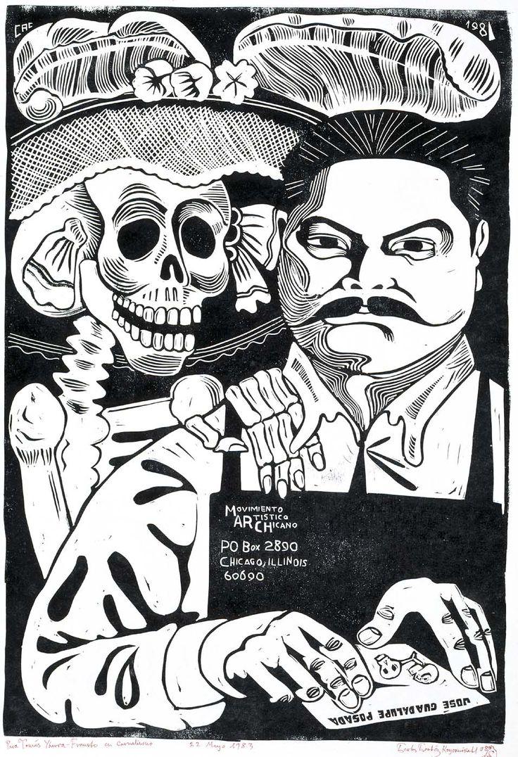 José Guadalupe Posada y la Catrina   Detrás de cada revista ...