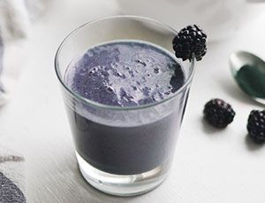 Bye-bye, blues super-smoothie When you're blah, a little nutrition can do wonders. This cleverly named smoothie is full of antioxidant-rich blueberries, vitamin-loaded spirulia, and good fatty acids from chia seeds to help with mood and (bonus!) heart health. Get the recipe at Pure Ella.