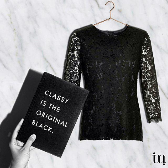 Classy is the original black. Ga met een vrouwelijke en zelfverzekerde look de deur uit met de collectie van InWear. Je kan het merk vinden op www.miinto.nl/brands/inwear.
