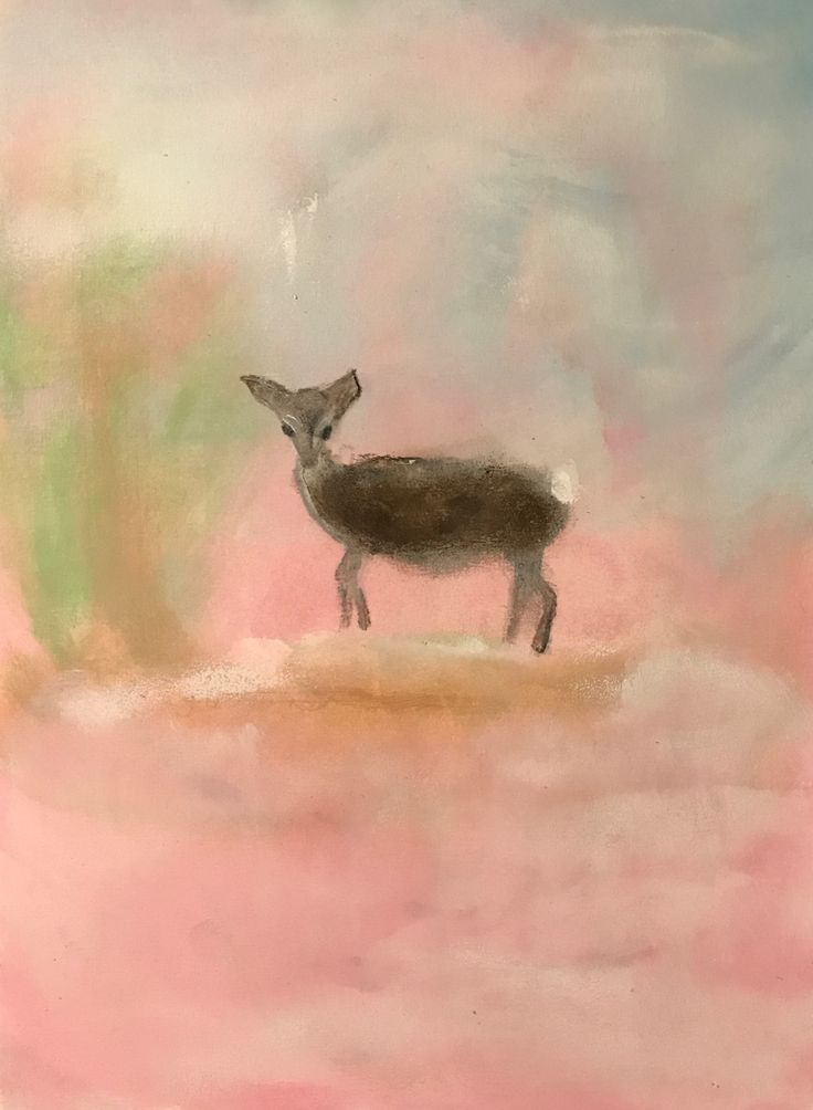 Love is a song that never ends- Bambi. Sign by Maria Vane-Tempest.2017