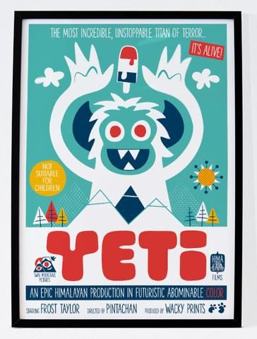 Yeti The Movie - Lámina