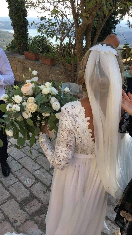Boho wedding dress by TSH Tina Steffenak Hermansen