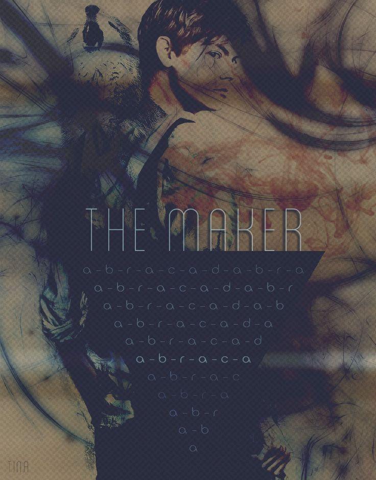 """Abracadabra"" RP Character Art (The Maker) Model: Thomas Brodie Sangster"