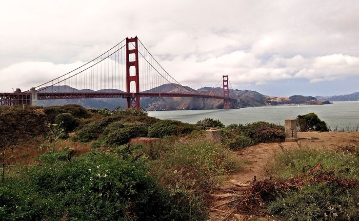 Golden Gate Bridge in USA