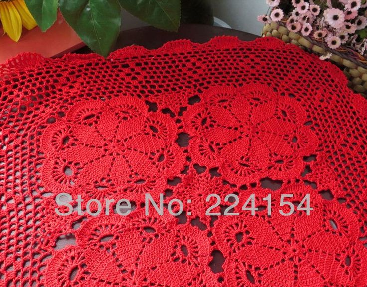 Aliexpress.com : Buy 60x60 cm square size handmade crochet table topper for wedding decoration Free Shipping!!! from Reliable square topper suppliers on Handmade Shop $13.80
