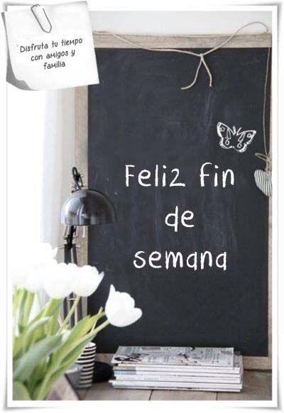 〽️ Feliz fin de semana...!