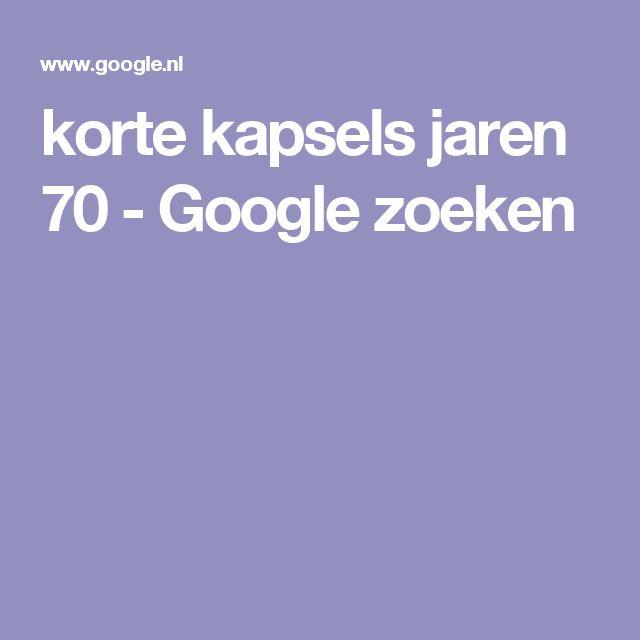 korte kapsels jaren 70 - Google zoeken