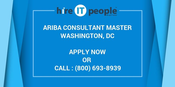 Required Skills - Ariba Consultant Master, lead projects, Ariba Buyer 9r1/9r2, Ariba Analysis, Ariba Sourcing & Contracts.Job Description:16+ years of experience. Coordinates IT project management, engineering, maintenance, QA, and risk managemen