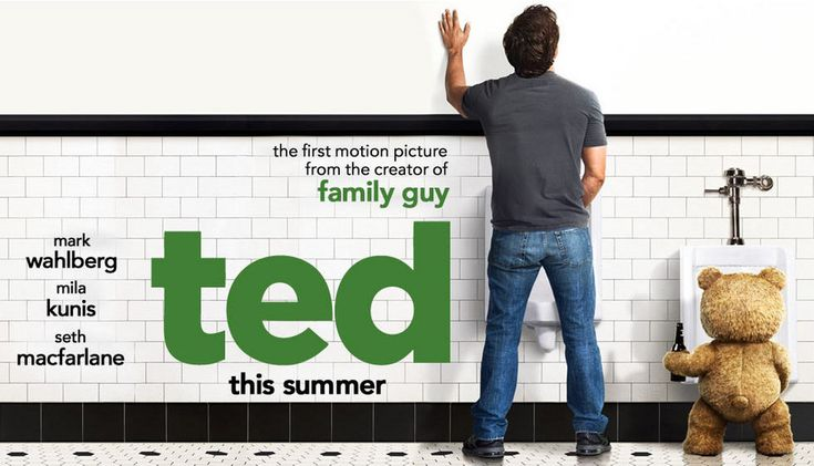 We can't wait for Ted! The first motion picture from Seth Macfarlane, the creator of Family Guy. Mark Wahlberg and Mila Kunis star in this film and it look like it is going to be hilarious! Be on the look out for Ted releasing on July 13th, 2012 and don't forget to come back to read the official Hollywood Apples review!!