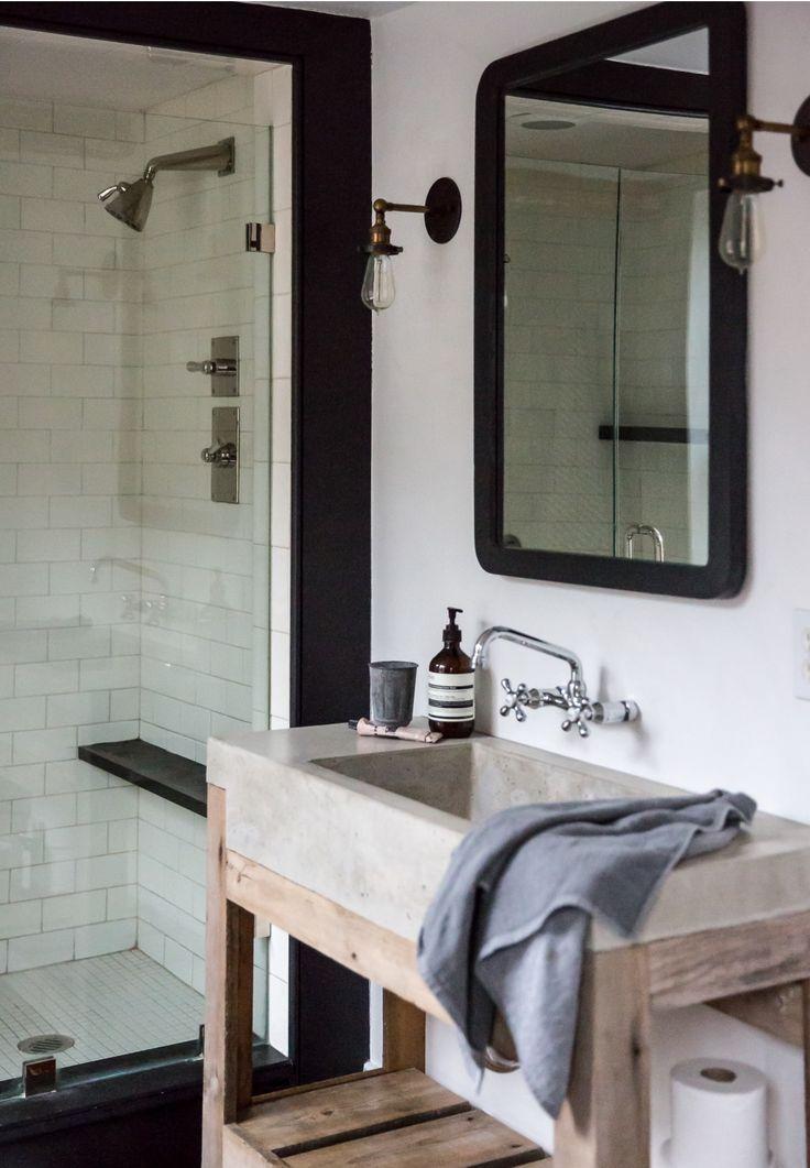 from remodelista jessie 39 s reno pinterest usine salle de bains et salle. Black Bedroom Furniture Sets. Home Design Ideas