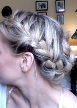Cherry Healey style plait - love it!