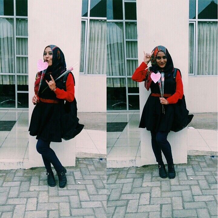 Keep Rockin for ur Day!! What u wear is What ur self #ootdhijab #hijab