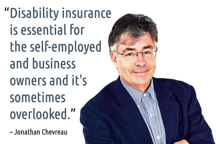 ~ Jonathan Chevreau #quotes #insurance