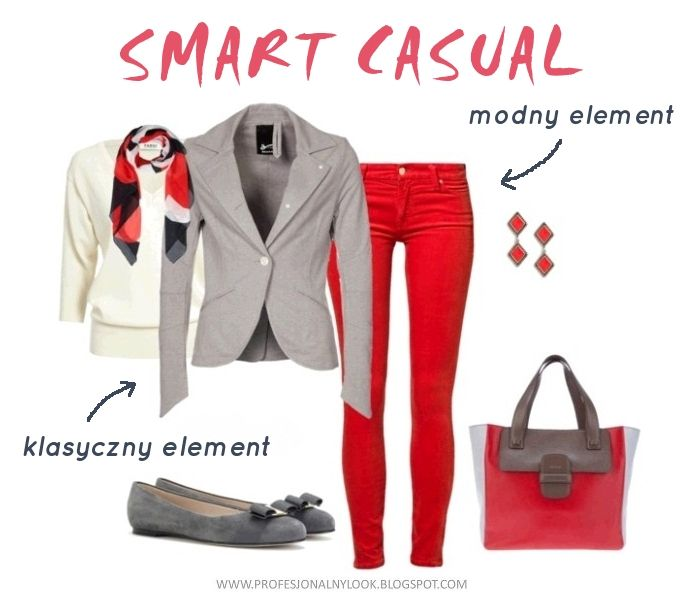 Smart Casual Dress Code | Profesjonalny Look: Dress code: smart casual