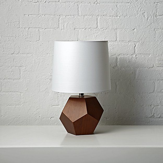 Https Www Crateandbarrel Com Geometric Rose Gold Lamp S502568