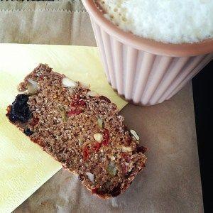 Vegan superfood fruit and nut loaf. Emma Lauren Food Blog.