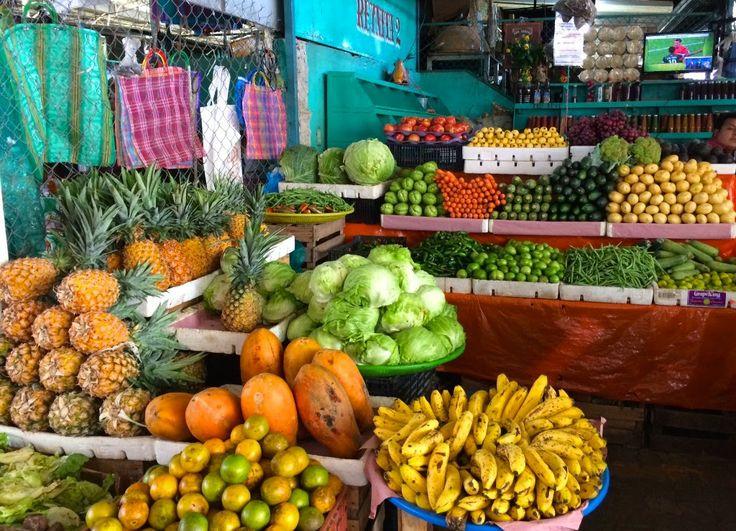 Mercado in Puerto Escondido