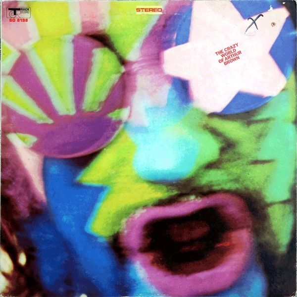 The Crazy World Of Arthur Brown - The Crazy World Of Arthur Brown (Vinyl, LP, Album) at Discogs  1968
