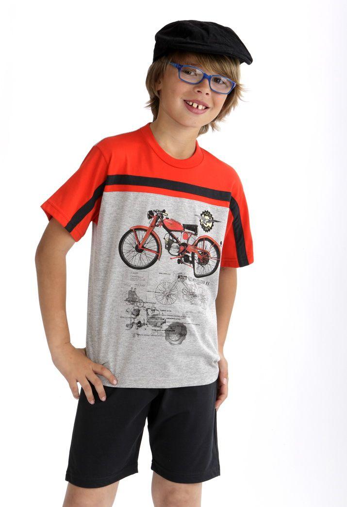 Motorbike pijama #Massana #Boy #MassanaKids #MassanaHomewear
