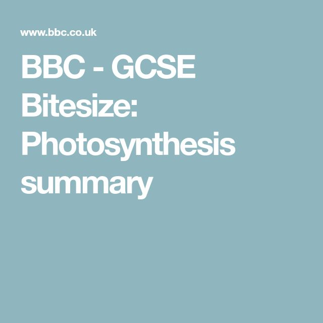 39 best chemistry c3 images on pinterest aqa gcse chemistry and bbc gcse bitesize photosynthesis summary ccuart Image collections